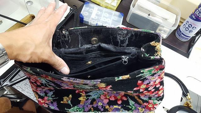 バッグの内袋