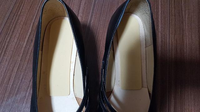 靴のスポンジ