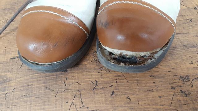 靴底のはがれ