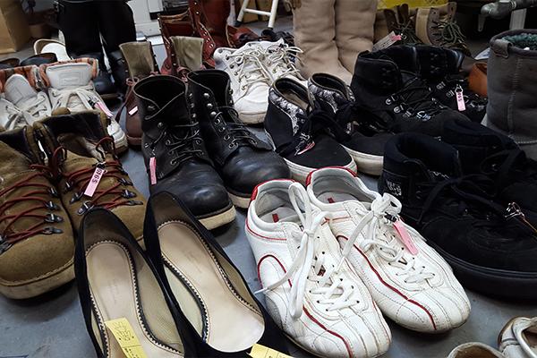 靴ブーツクリーニング